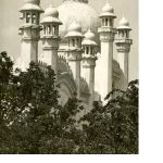 "At the Sesquicentennial Exposition celebration of 150 years of American independence, J.J. Singh, later known as the ""One Man Lobby,"" ran the Indian pavilion of London's Taj Mahal Trading Company."